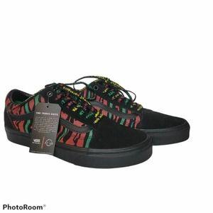 Vans ATCQ Old Skool Sneakers Black Tiger Print 8